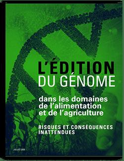 L'Édition du génome dans les domaines de l'alimentation et de l'agriculture